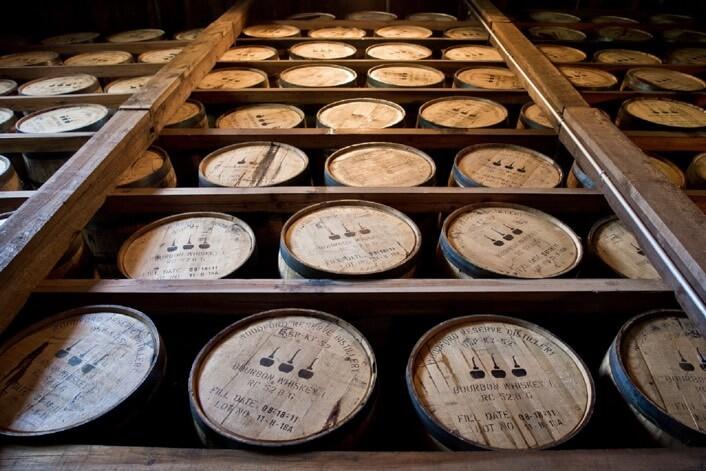 barriles de whisky