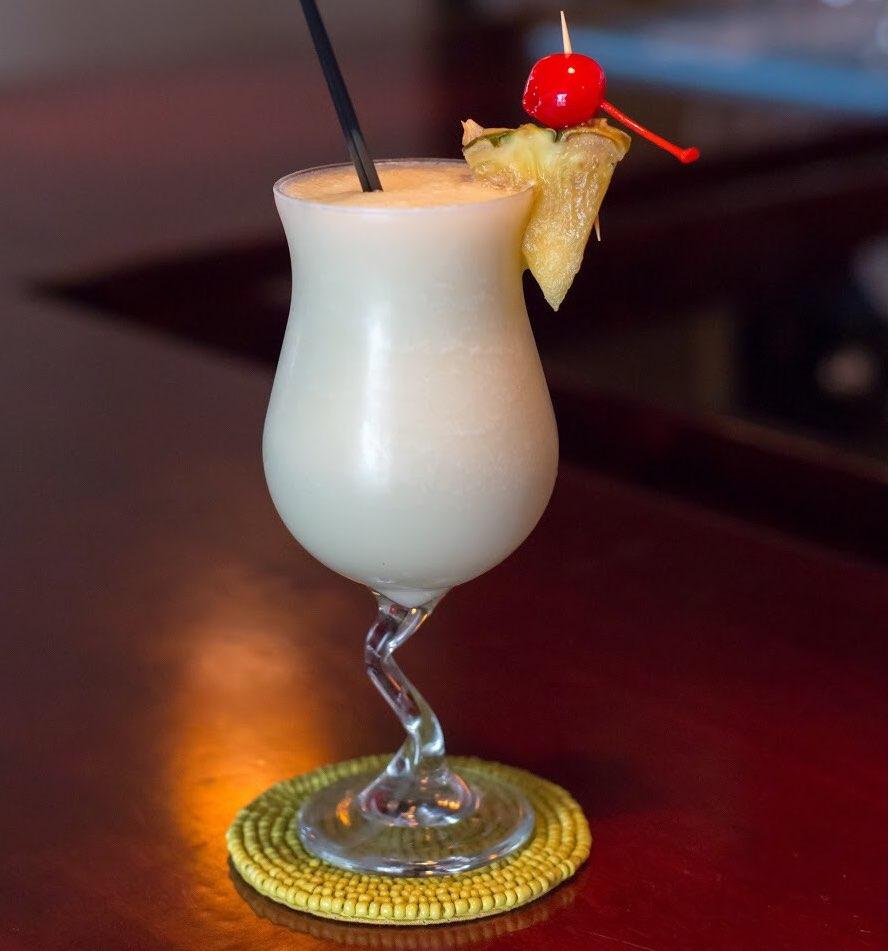 bebida prepara con Coco López