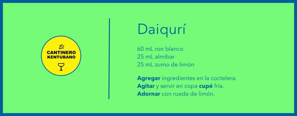 daiquiri receta