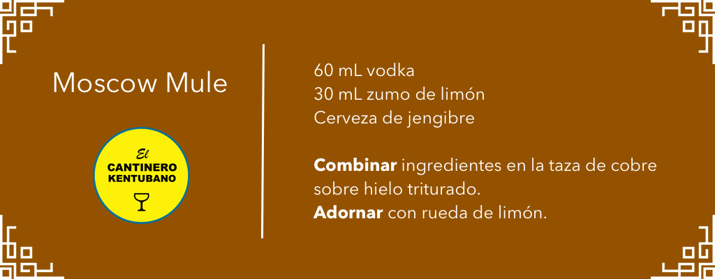 moscow mule receta