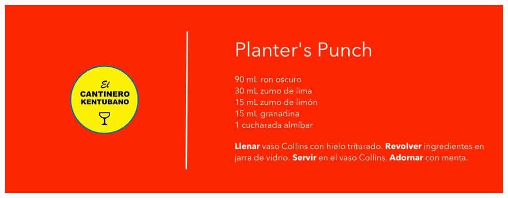 planters punch receta