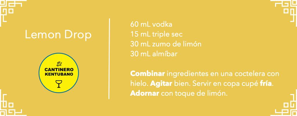 lemon drop martini receta