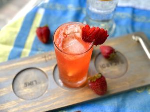 chilcano de fresa
