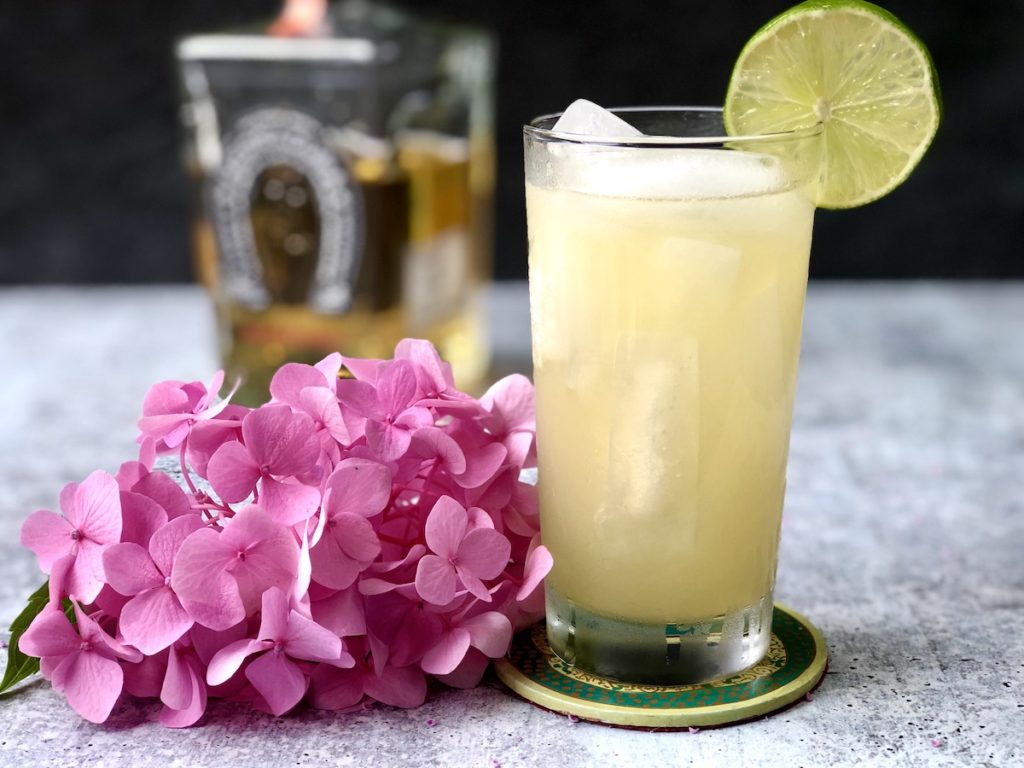 margarita de maracuya coctel