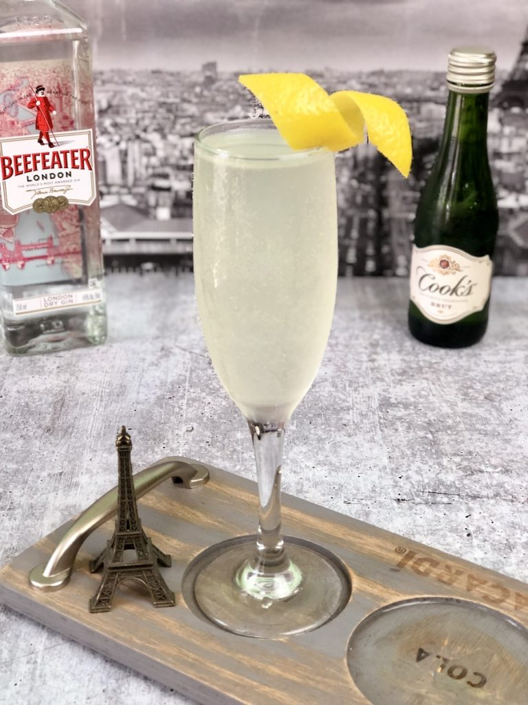 french 75 coctel
